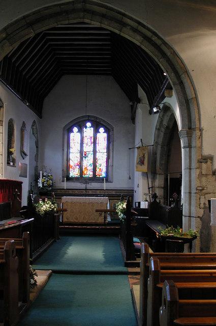 St Michael, Cuxton, Kent - East end
