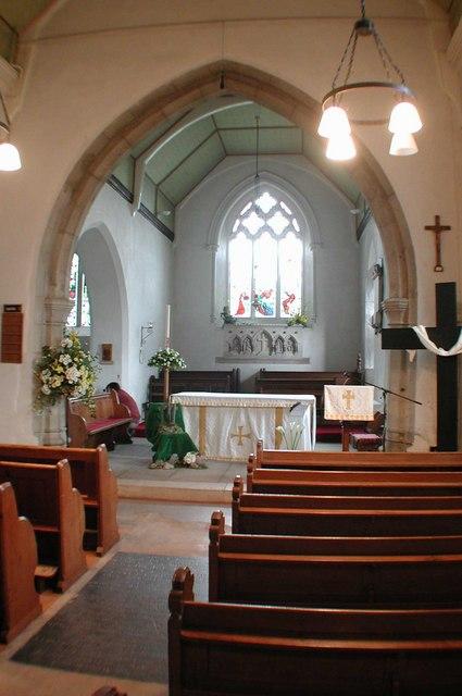 St Peter & St Paul. Leybourne, Kent
