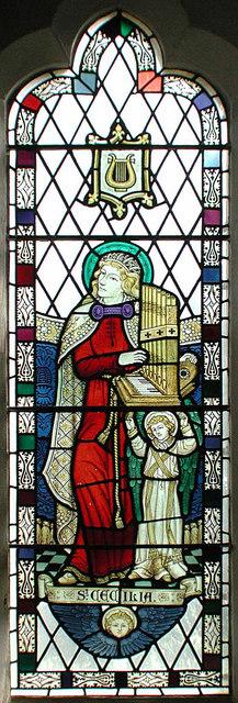 St Peter & St Paul. Leybourne, Kent - Window