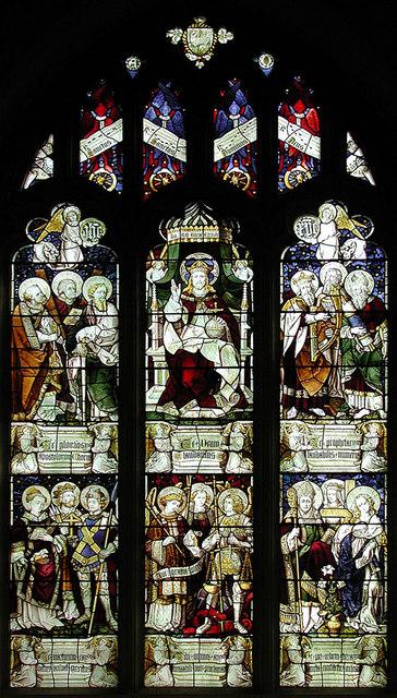 St Peter & St Paul, Aylesford, Kent - Window