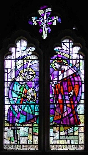 St Martin of Tours, Chelsfield, Kent - Window