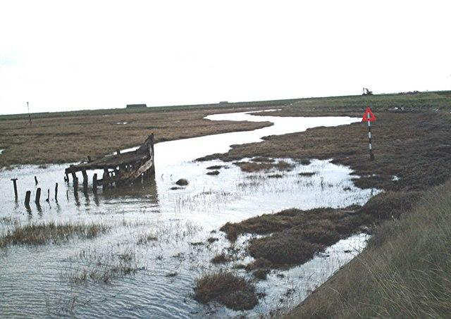 Wallasea Island saltmarsh