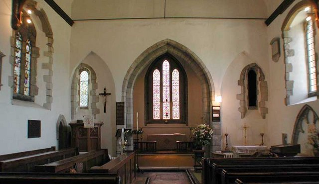 St Peter & St Paul, Farningham, Kent - East end