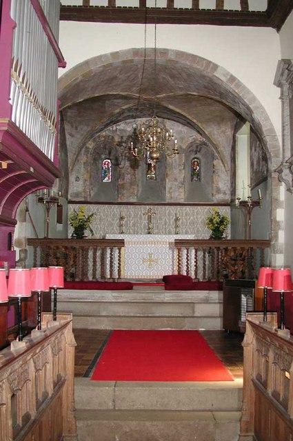 St Margaret of Antioch, Darenth, Kent - East end