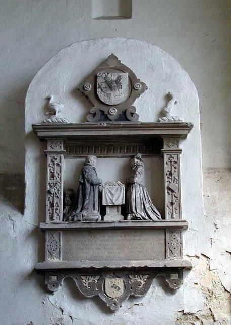 St Mary, St. Mary Cray, Kent - Wall monument