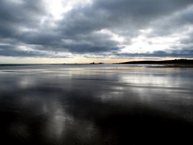 Cruden Bay Beach - a rising tide