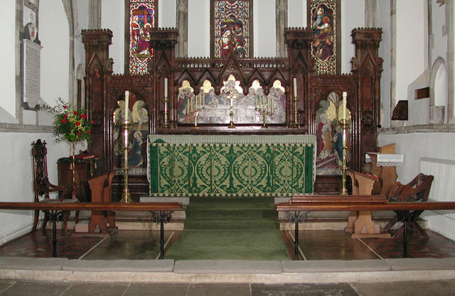 St Mary the Virgin, Eastry, Kent - Sanctuary