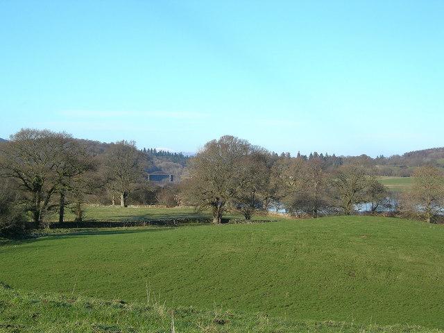 Towards the Loch Ken Viaduct