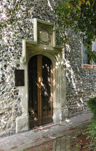 St Clement, Knowlton, Kent - Doorway
