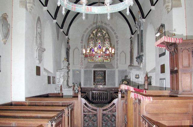 St Clement, Knowlton, Kent - East end