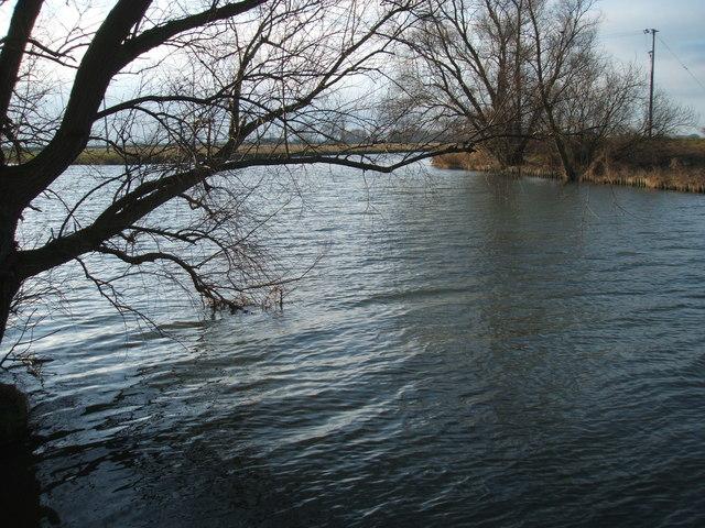River Cam at Upware