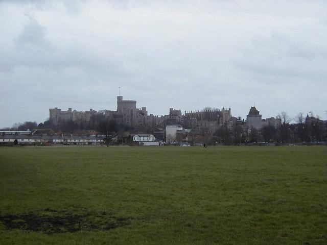 Panorama of Windsor Castle