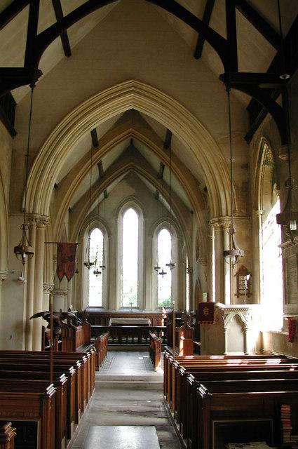 Holy Cross, Goodnestone, Kent - East end