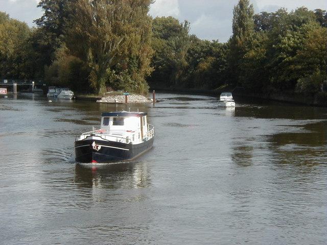 Downstream from Windsor Bridge