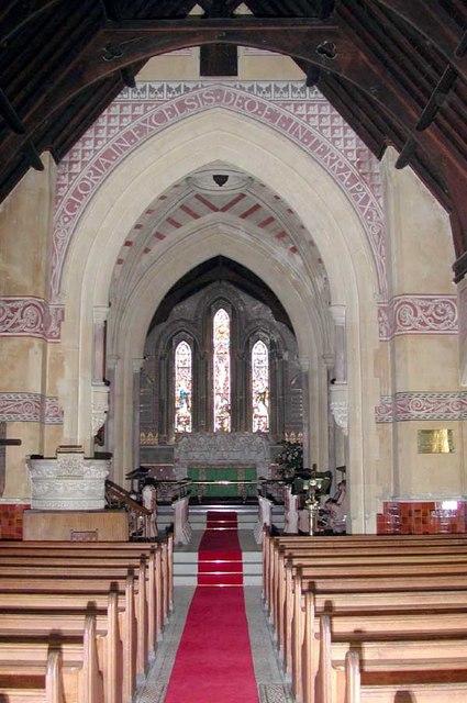 St Giles, Shipbourne, Kent - East end