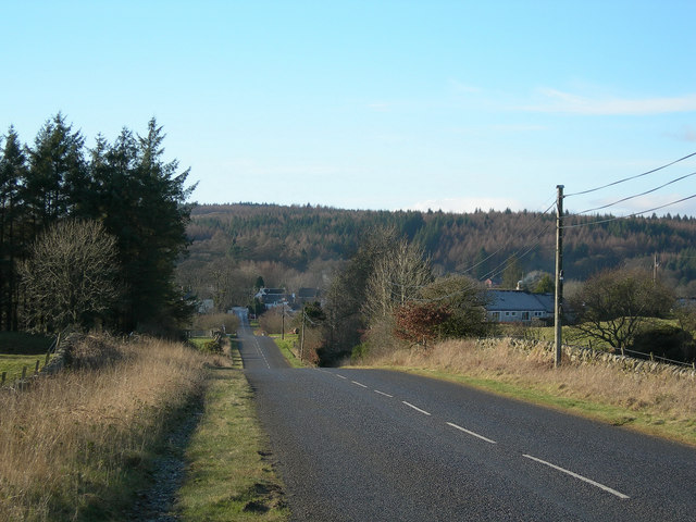 The Road to Laurieston
