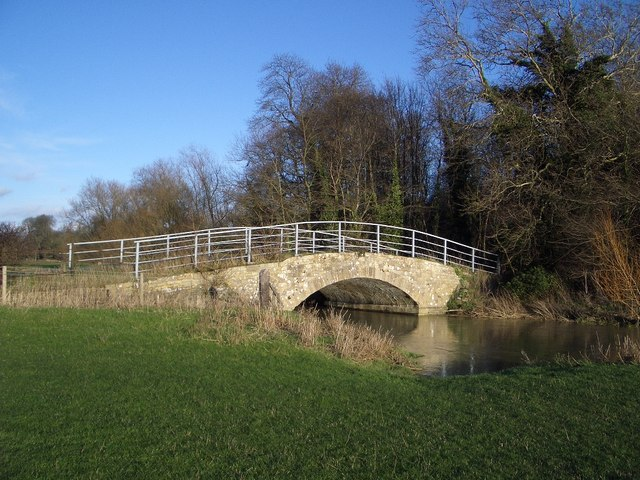 The River Bridge near Pilton