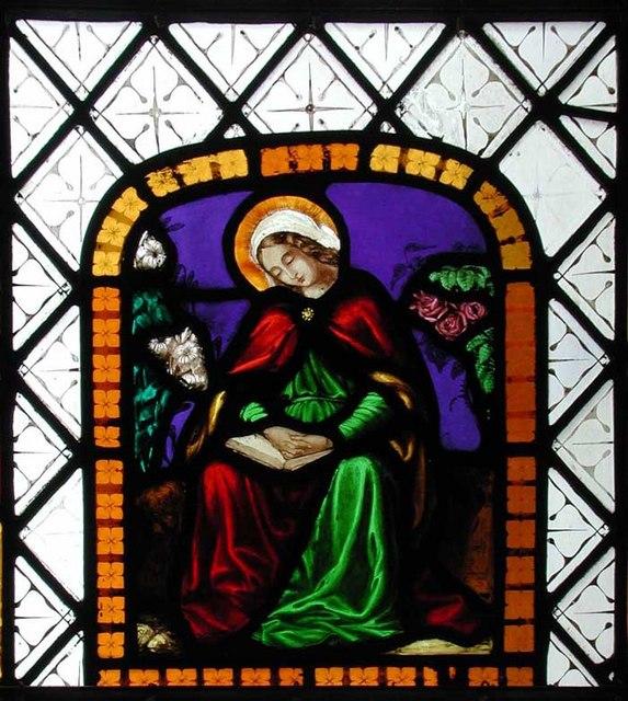 St Mary, West Malling, Kent - Window