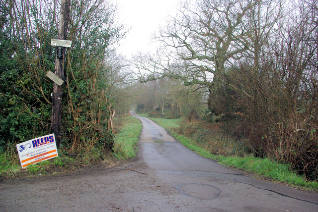 Drive Entrance, Towsers Lodge Farm