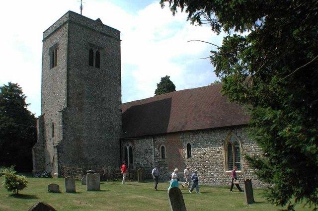 St Peter & St Paul, Trottiscliffe, Kent