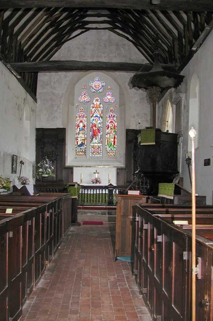 St Peter & St Paul, Trottiscliffe, Kent - East end