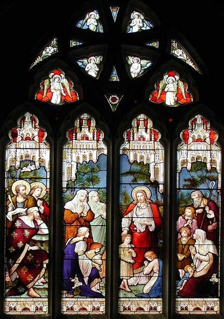 St Peter & St Paul, Trottiscliffe, Kent - Window