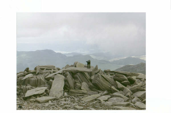 View from the Glyders