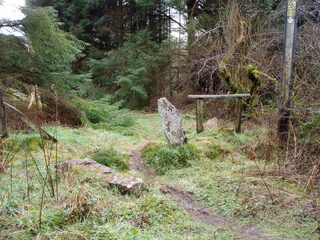 Former gateposts in the Forest