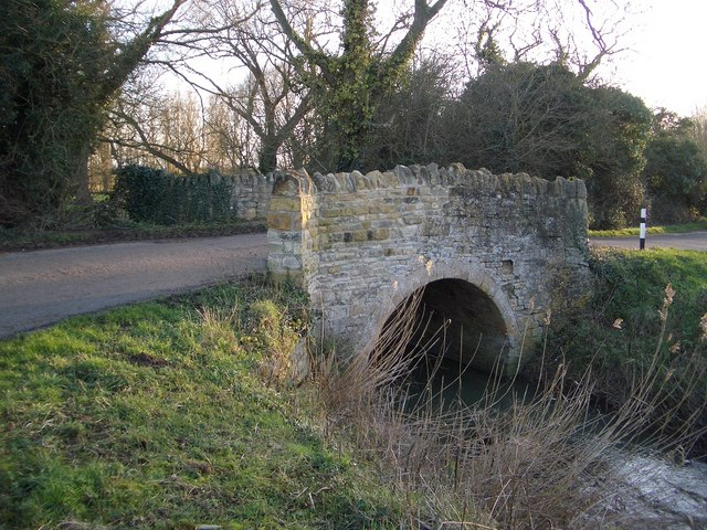 Road Bridge at Thorpe Waterville