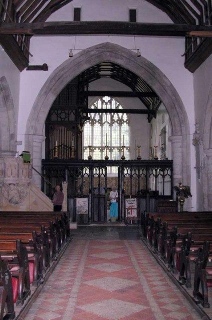 St George, Wrotham, Kent - East end