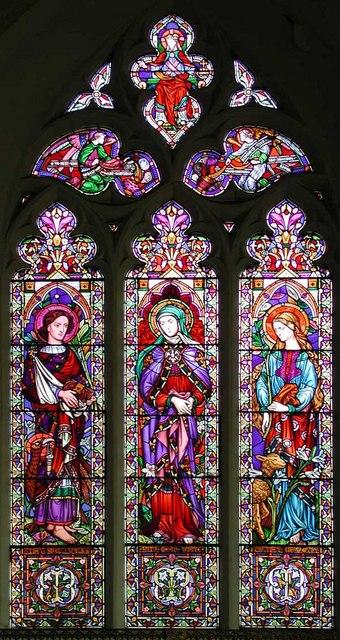 St George, Wrotham, Kent - Window