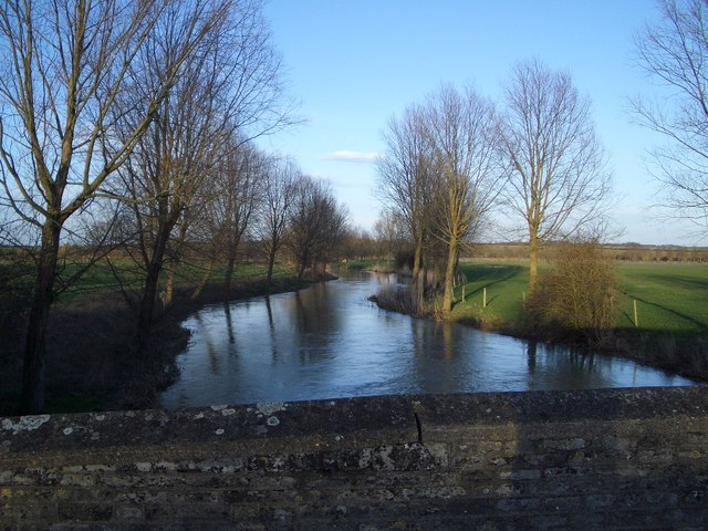 The River Nene East of Aldwincle