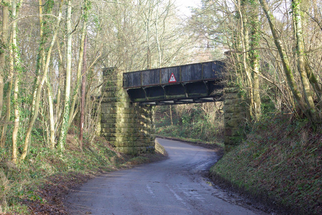 Old Railway Bridge, South of Town Row