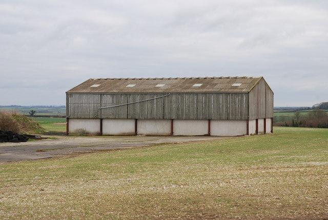 Barn at end of Runway