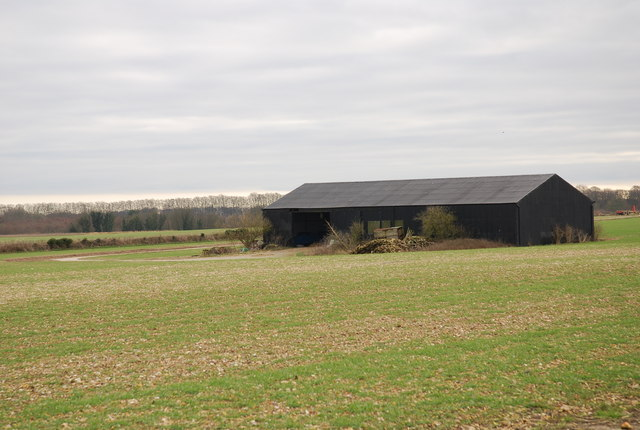 Hangar or Barn on Tarrant Rushton airfield