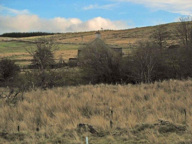 Cottage near Henlaw Wood