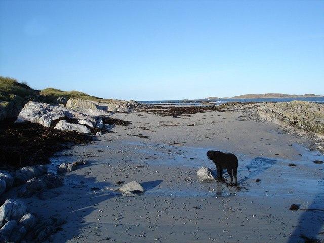 Beach below Rosgill