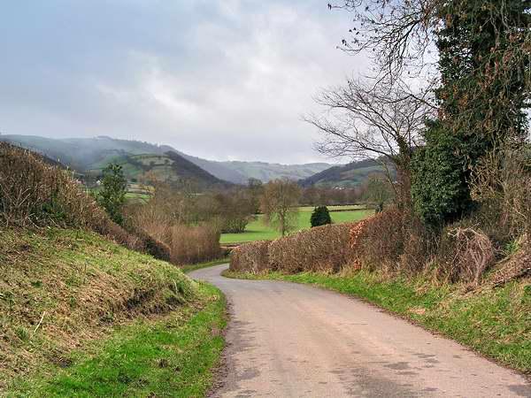 Upper Clun valley