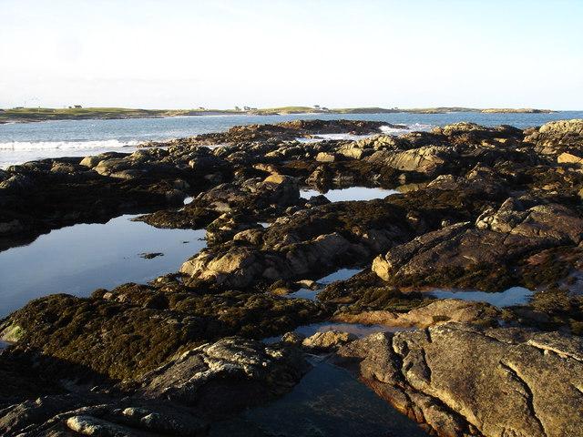 Port Ruadh from Creag Sgreuchaidh