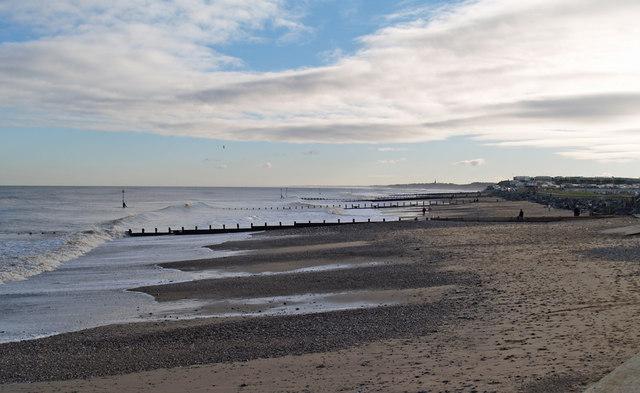 Hornsea - The Beach in January
