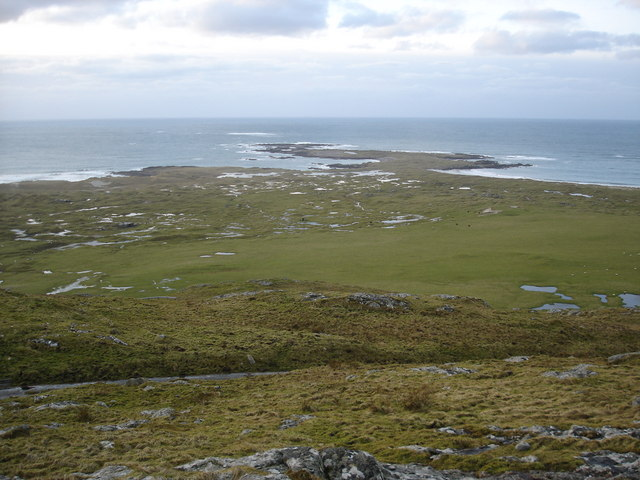 The view west from Cnoc an Fhithich