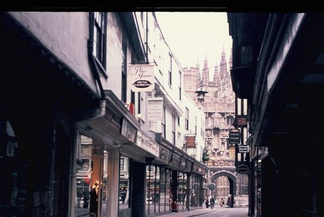 Mercery Lane, Canterbury