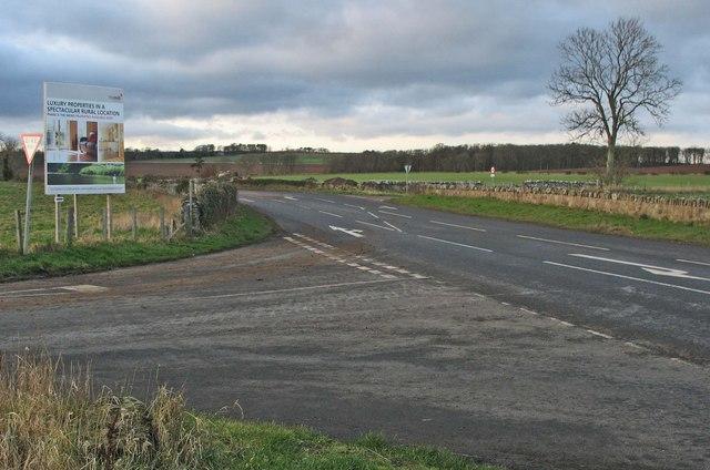 A6105 at Edington