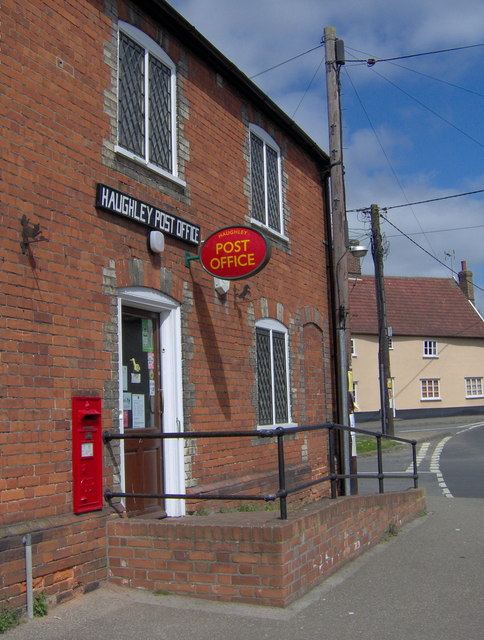 Haughley post office joan vaughan geograph britain and ireland - Great britain post office ...