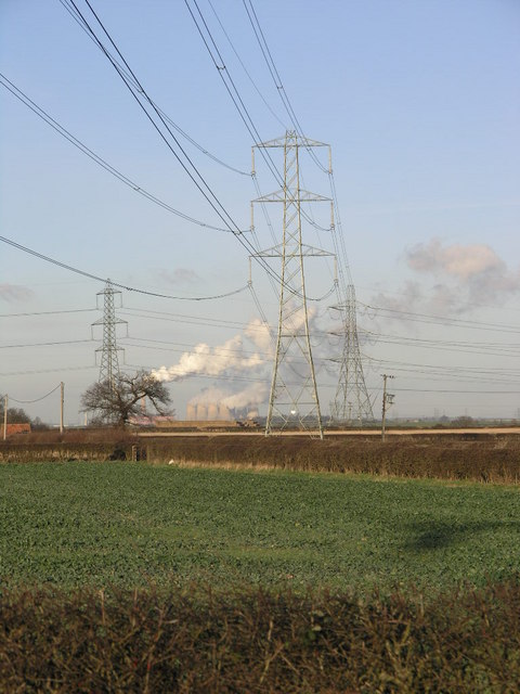 Pylons and Power Station