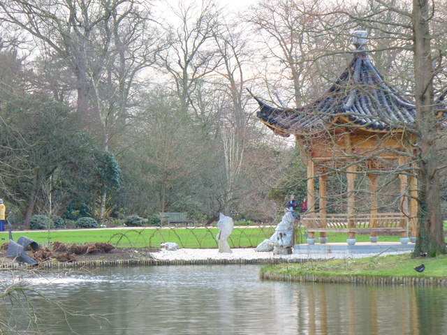 Chinese Pavilion, RHS Wisley