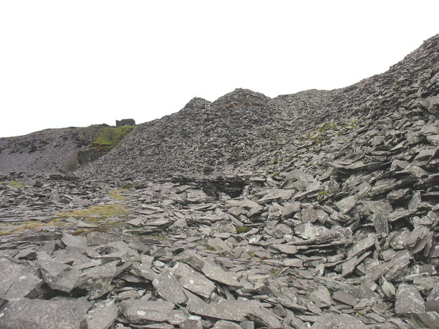 The old reduction level of Cook Quarry