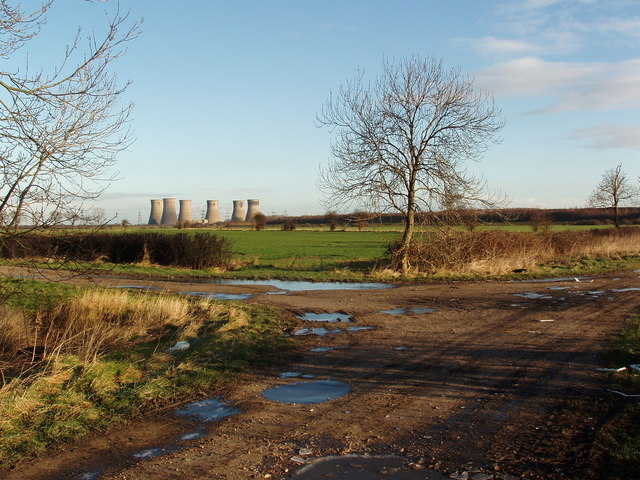 Junction of Arksey Common Lane and Common Lane, Almholme, near Bentley, South Yorkshire