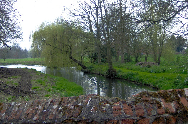 River Brett at Chelsworth