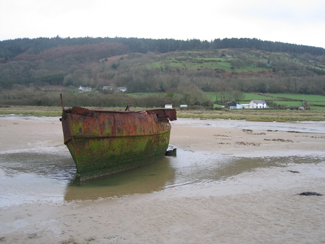 Red Wharf Bay and Shipwreck